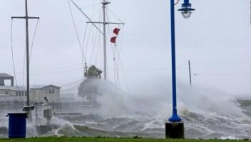 Así captaron las webcams el paso del huracán Ida
