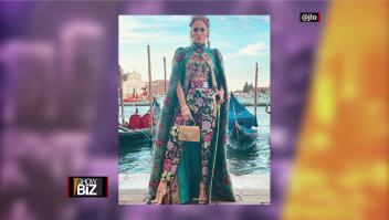 JLo enamora a Venecia al estilo Dolce & Gabbana