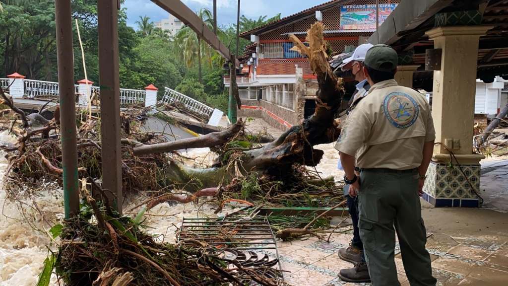 El huracán Nora deja al menos dos muertos en Jalisco