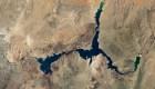 Mira imágenes comparativas de la sequía en el lago Mead
