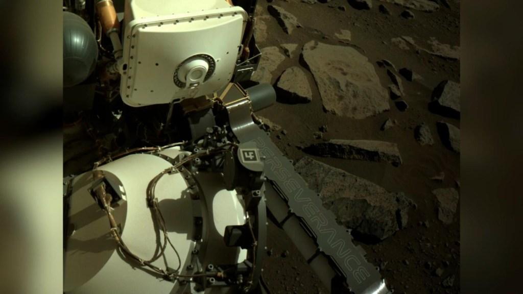 Perseverance protagoniza la imagen de la semana en Marte