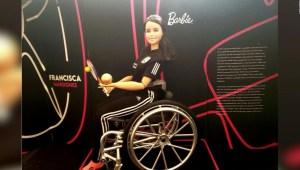 Mira la Barbie en silla de ruedas inspirada en atleta