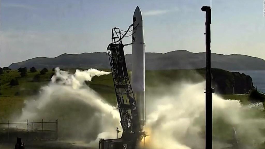 Cohete de Astra falla al despegar