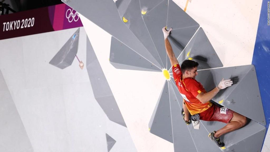 Alberto Ginés escalada