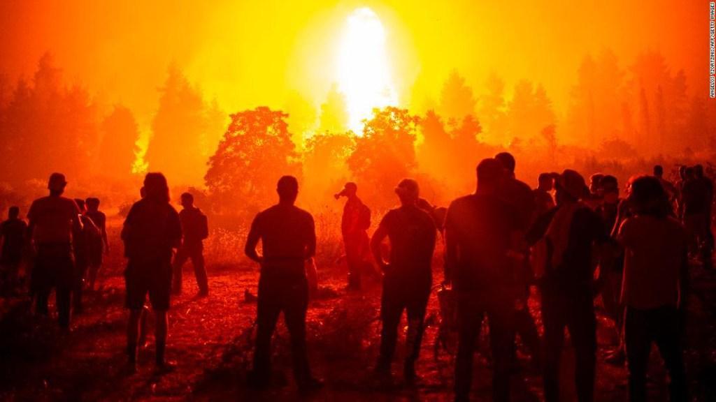 incendio Evia Grecia