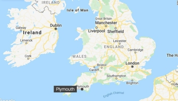 armas Plymouth Inglaterra