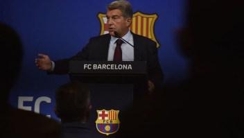 Joan Laporta Barcelona Messi