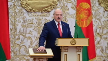Alexander Lukashenko, presidente de Belarús