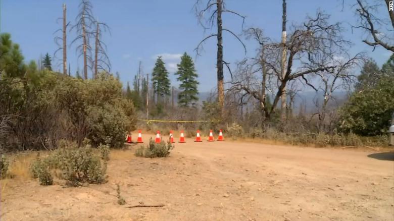 familia muerta senderismo California