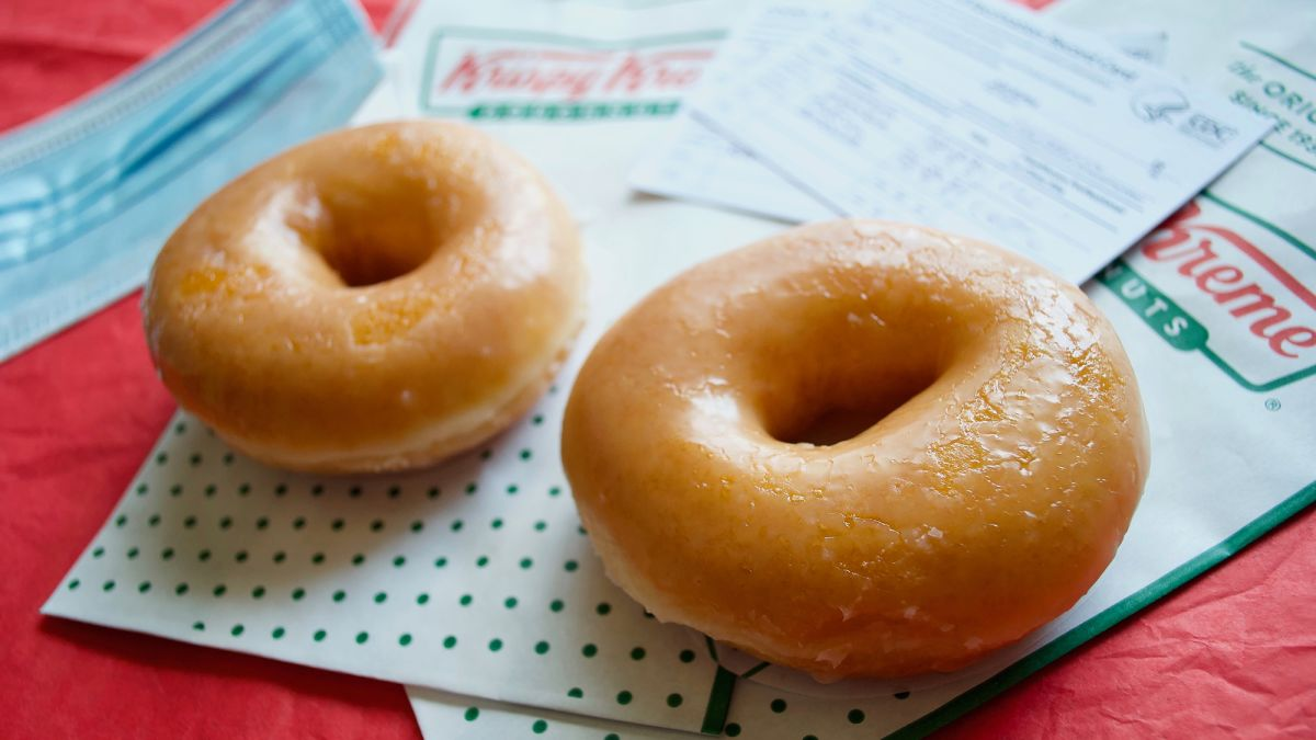 Krispy Kreme will now give Two free Donuts to vaccinated