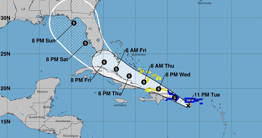 Tormenta tropical Fred se forma en el Caribe