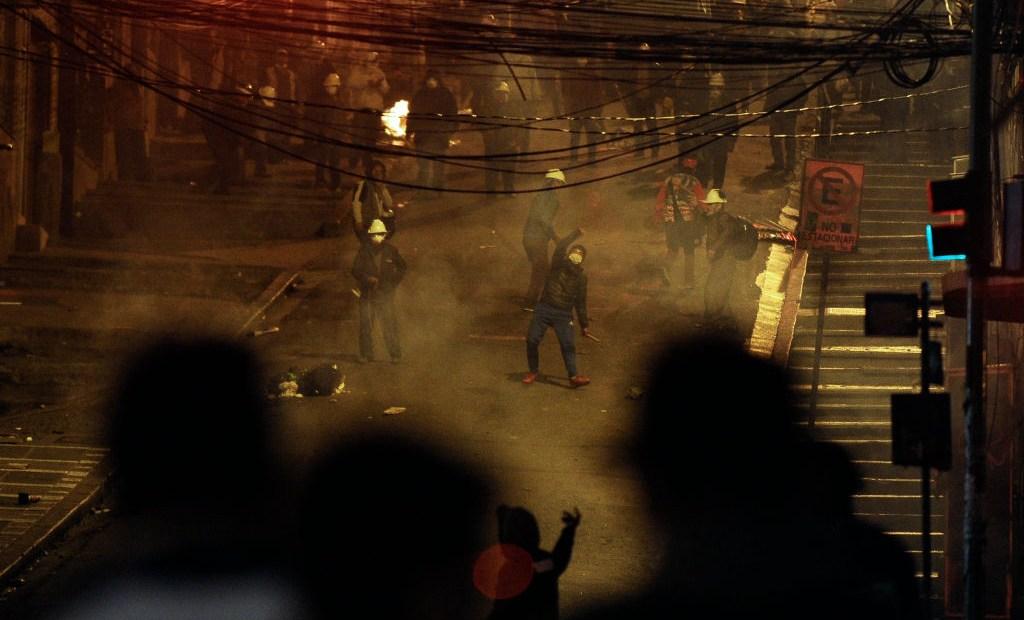 Enfrentamientos en Bolivia tras elecciones de 2019