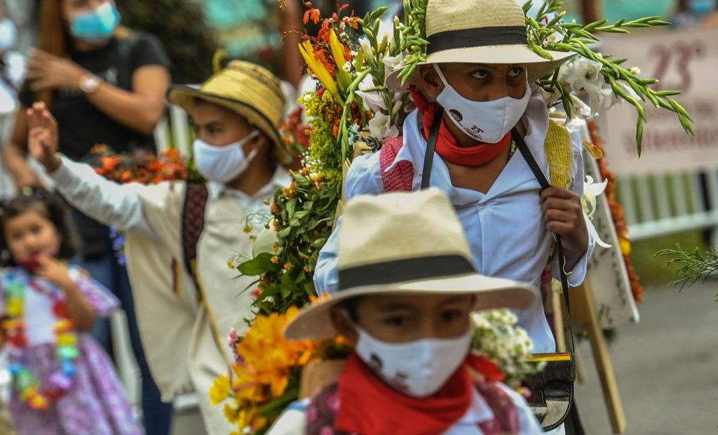 Silleteritos en Colombia