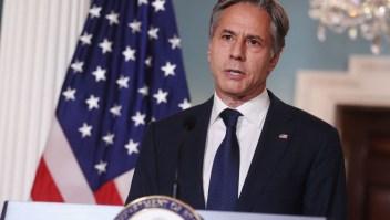 Antony Blinken anuncia misión diplomática en Afganistán