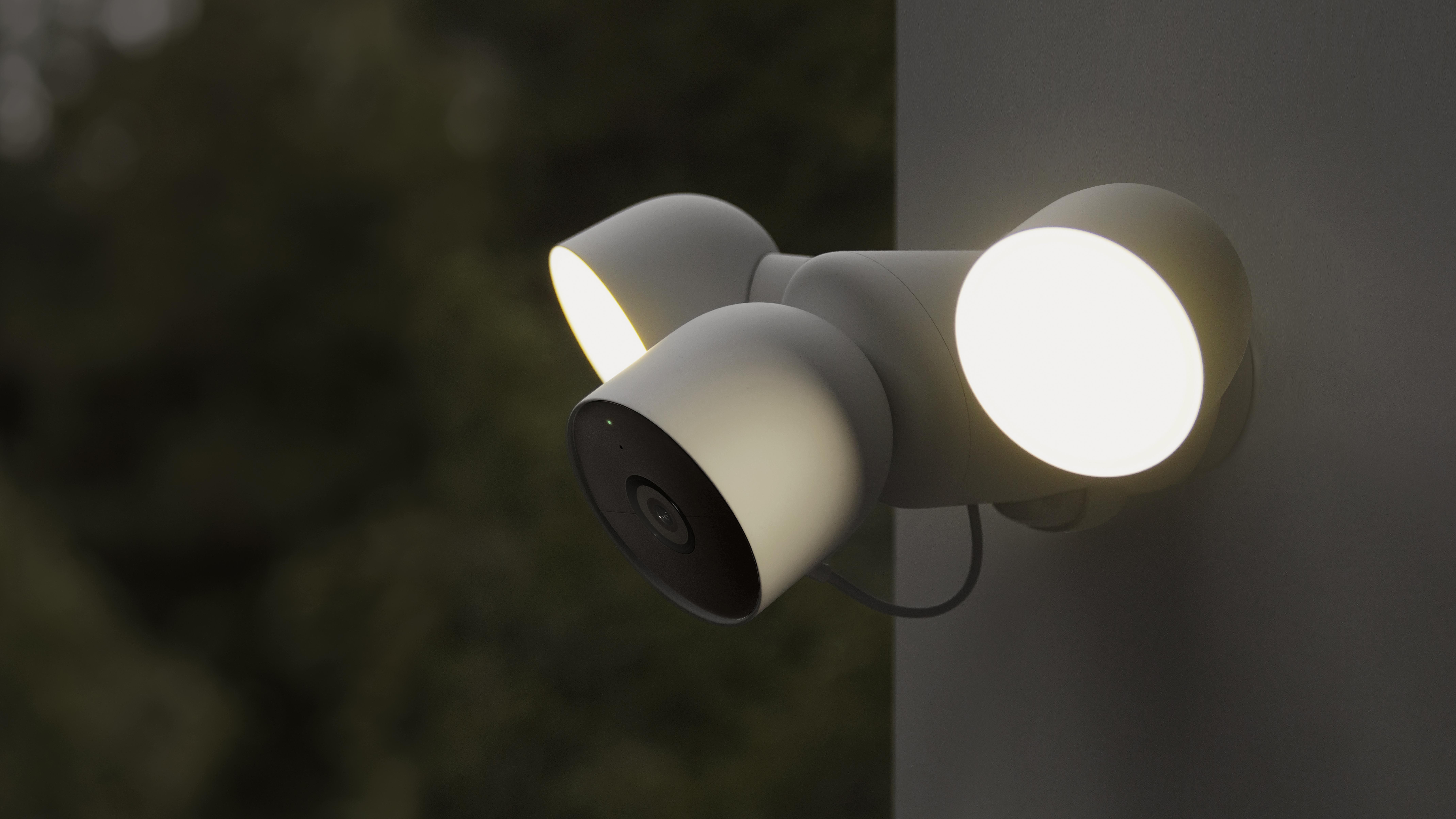 Nest Cam with Floodligh sensor de movimiento