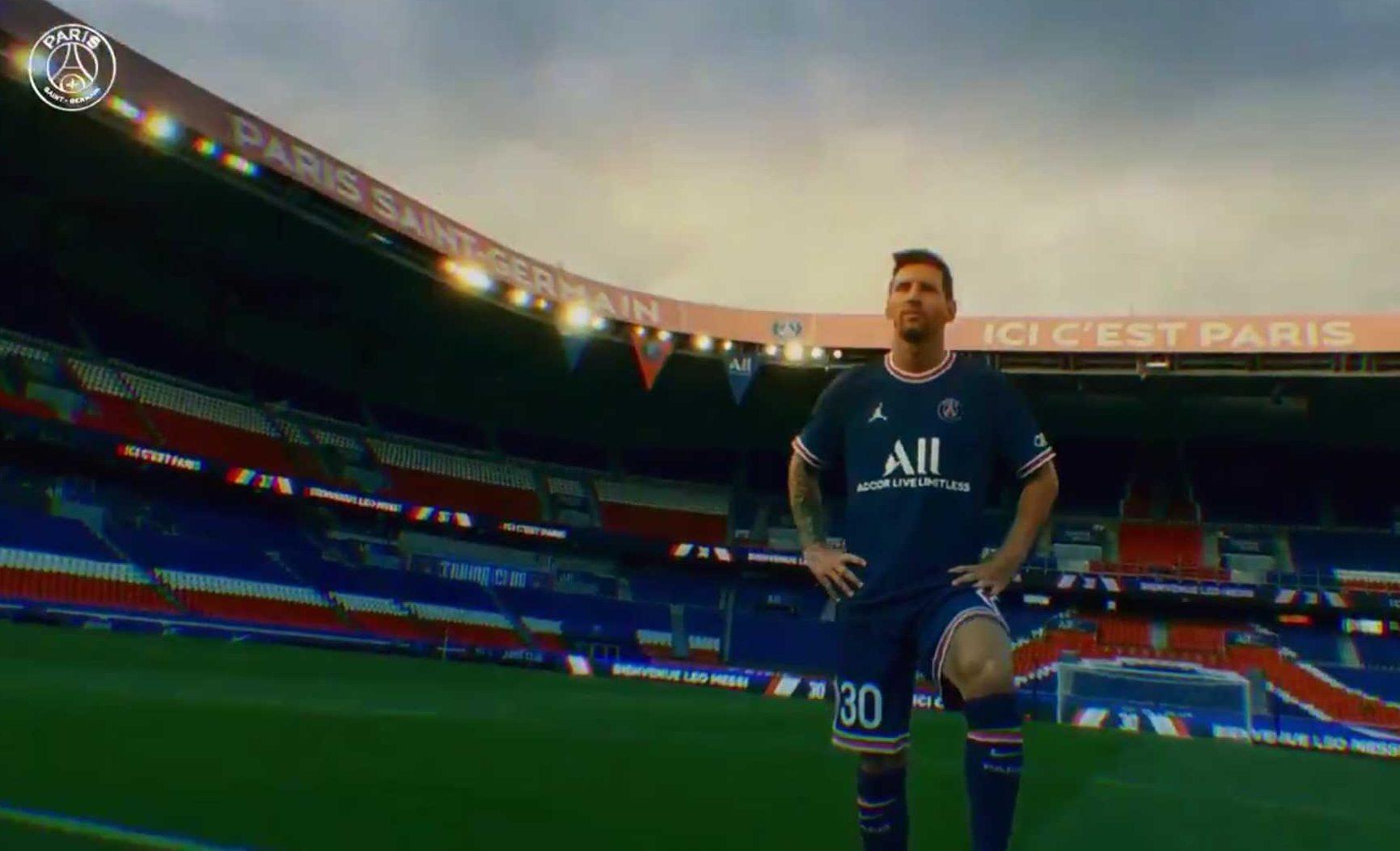 El Paris Saint-Germain anuncia oficialmente el fichaje de Lionel Messi