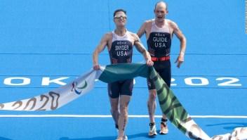 Brad Snyder, atleta paralímpico ciego en Afganistán