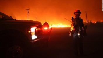 Incendios forestales Estados Unidos oeste