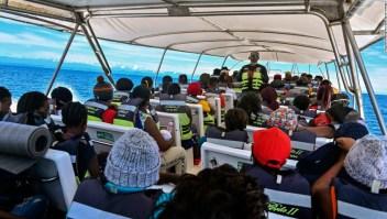 Necoclí Colombia migrantes