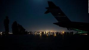 vuelos de evacuación desde el aeropuerto de Kabul