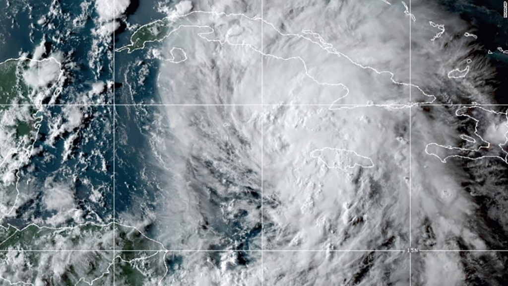 La tormenta tropical Ida podría llevar hasta 300 milímetros de lluvia y vientos huracanados a la costa del Golfo