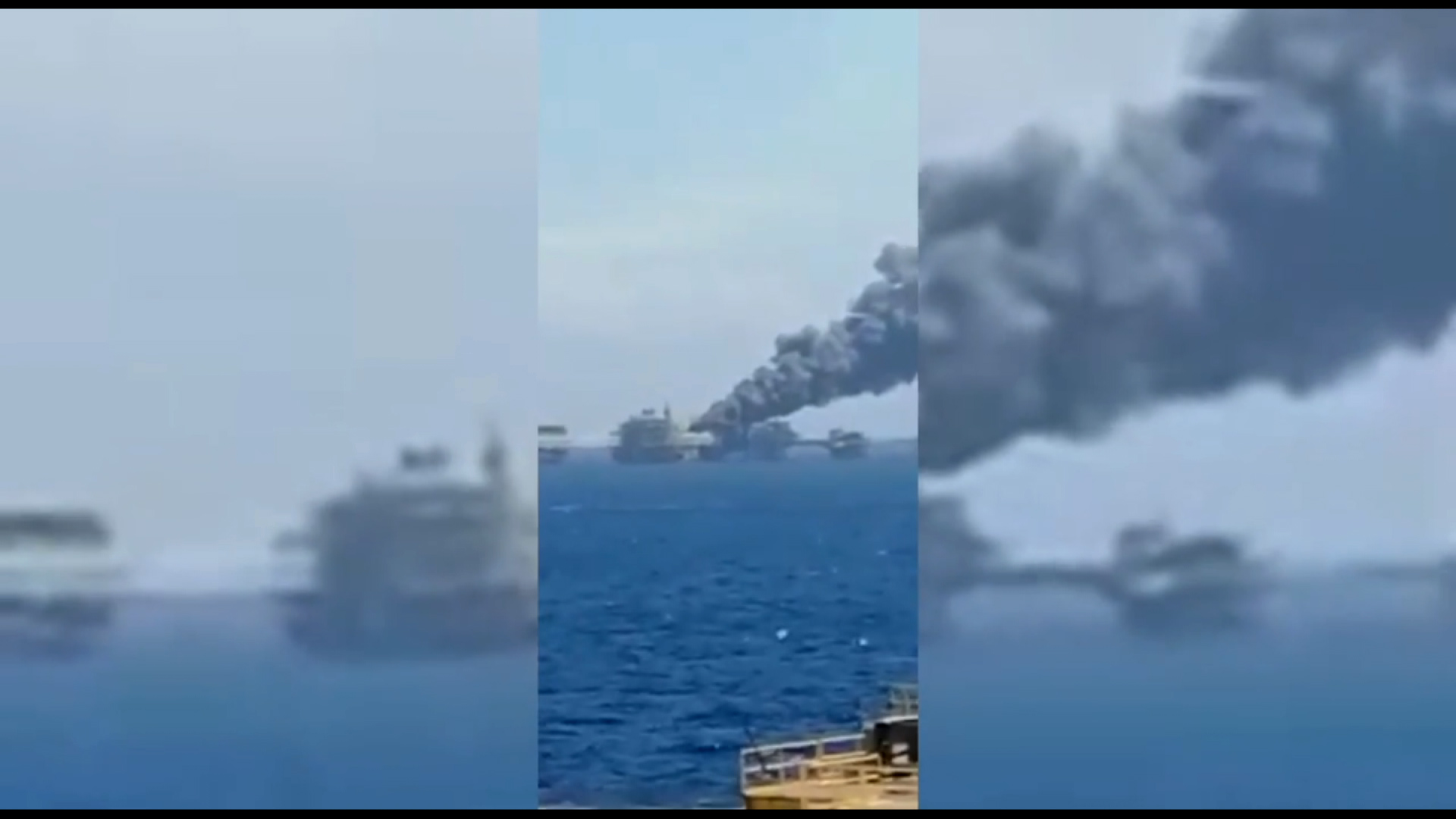 5 injured after Oil rig fire in Gulf of Mexico