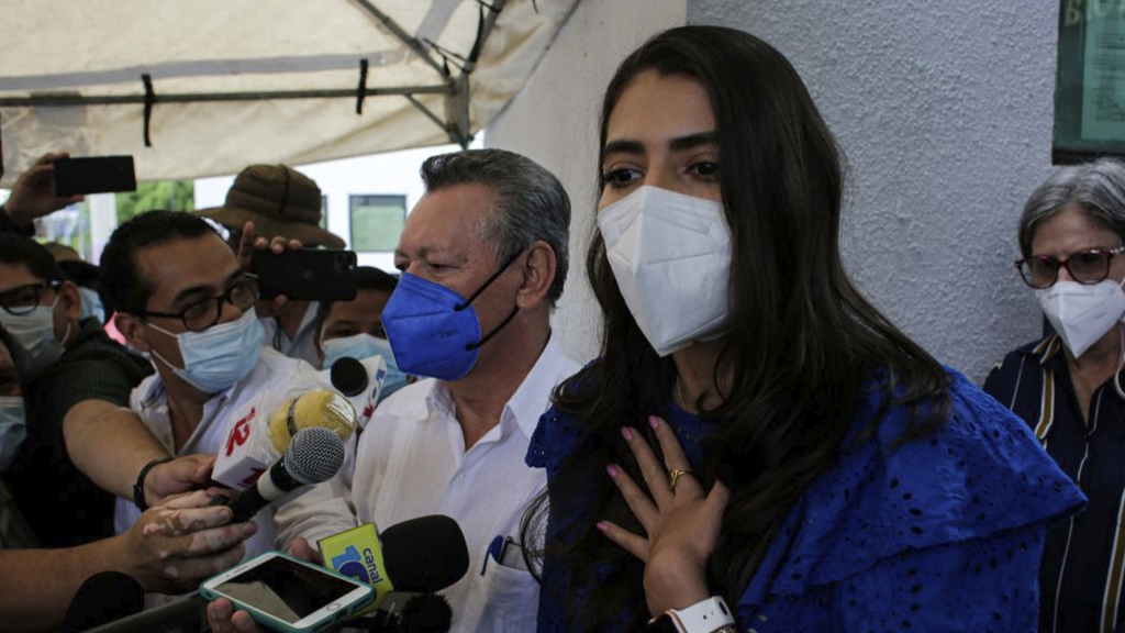 """Acusan de """"conspirar para cometer actos terroristas"""" a candidata vicepresidencial en Nicaragua"""