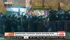Tensión durante protestas en Bolivia contra Luis Arce
