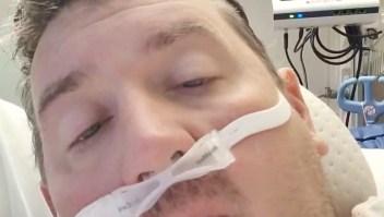 Hombre comparte doloroso diario de covid-19 desde su UCI