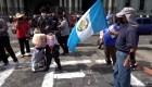 Campesinos mantienen llamado a protestas en Guatemala