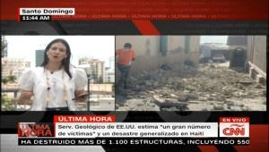 Terremoto en Haití de magnitud 7,1 se sintió de forma leve en República Dominicana
