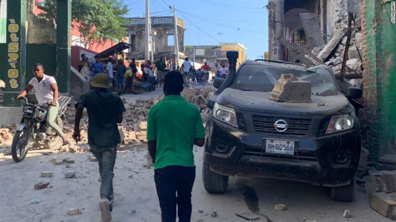 La amenaza de la tormenta Grace para Haití