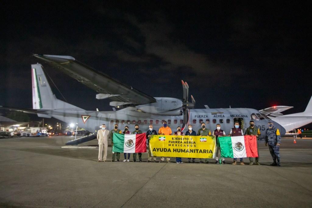 México envía 15,4 toneladas de ayuda a Haití tras terremoto/Imagen de @SRE
