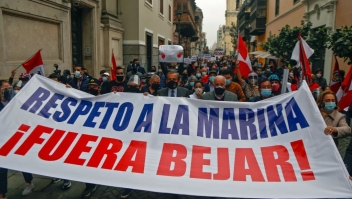 Renuncia Héctor Béjar, ministro de Relaciones exteriores
