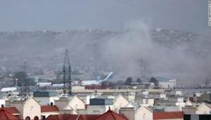 Explosión en el aeropuerto de Kabul