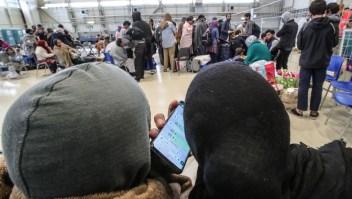 Así se prepararon los afganos que salieron de la base aérea de Ramstein para su nueva vida en EE.UU.