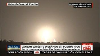 Lanzan satélite diseñado en Puerto Rico