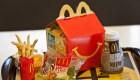 McDonald's busca reducir uso de plásticos en Cajita Feliz