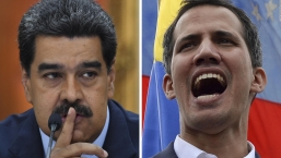 Maduro arremete contra Guaidó