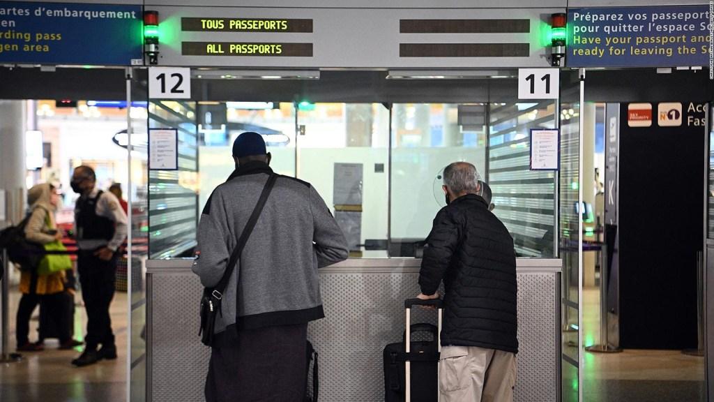 No vacunados de EE.UU. no podrán entrar a Francia
