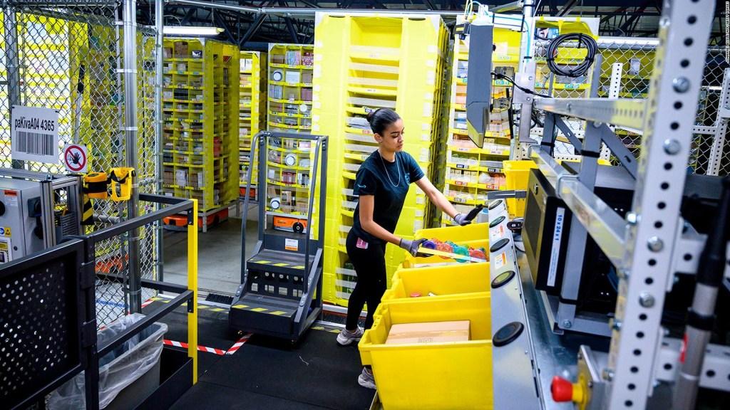 Amazon planea contratar a 125.000 trabajadores adicionales