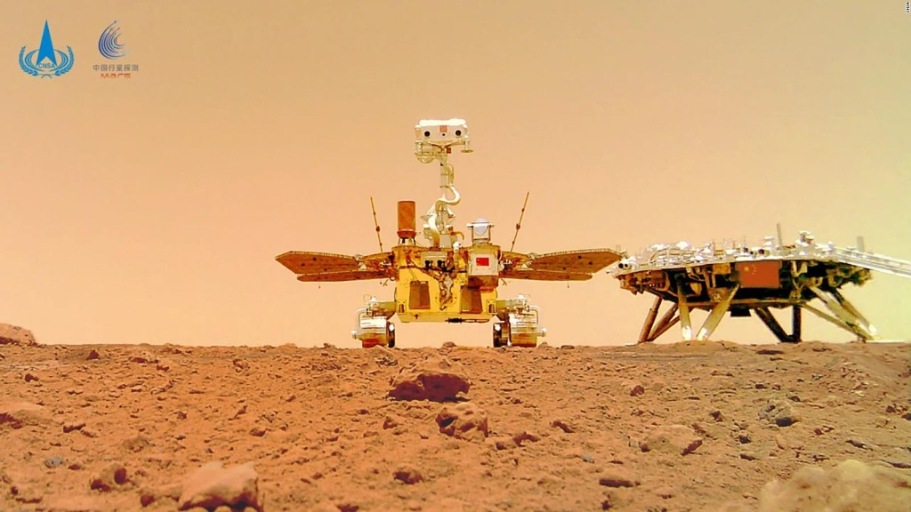 China suspenderá temporalmente su misión en Marte