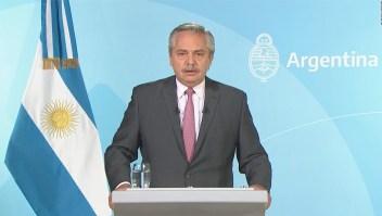 Alberto Fernández reconoce errores