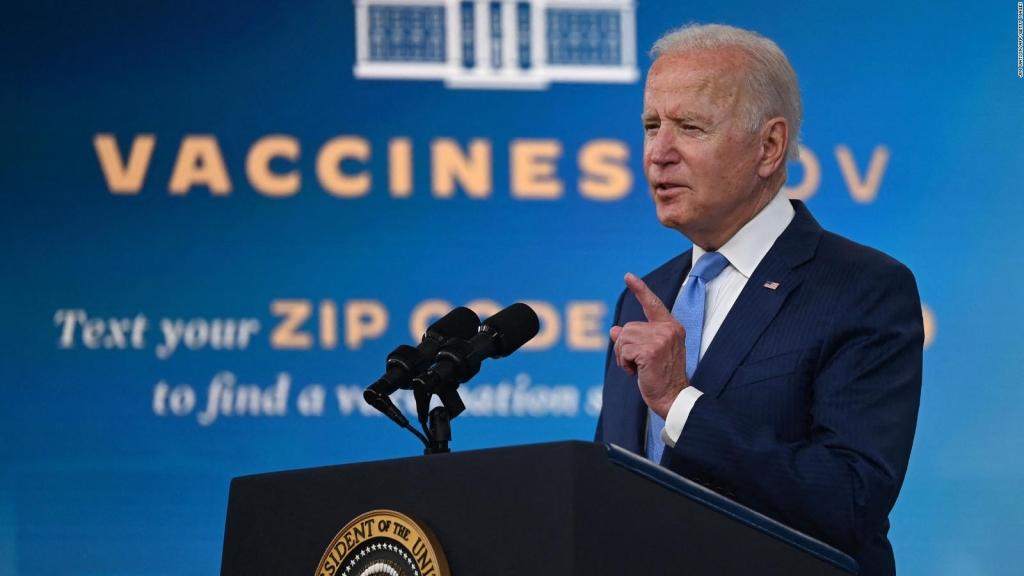Biden: EE.UU. se convertirá en un arsenal de vacunas
