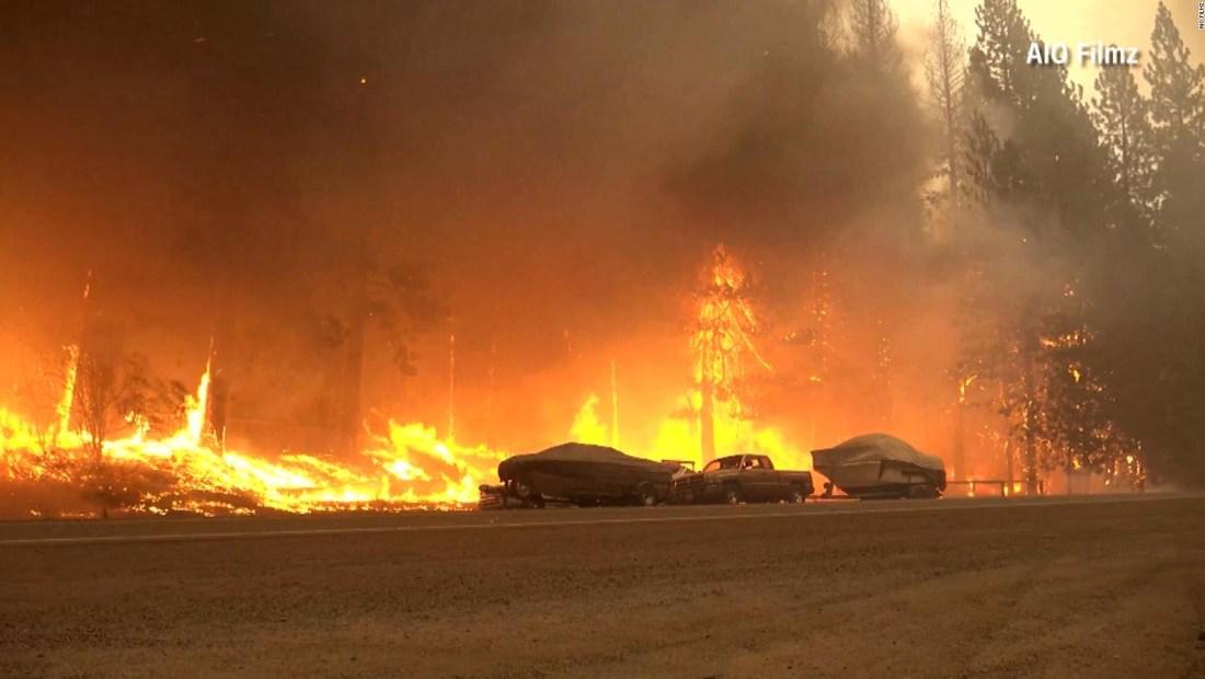Dixie quema más de 370.000 hectáreas en California