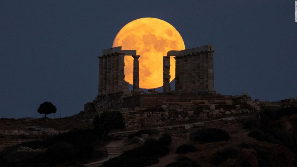 Este lunes no te pierdas la luna de cosecha