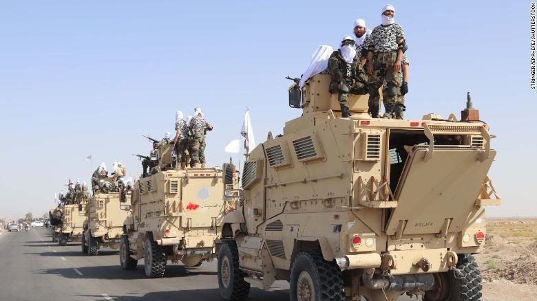 talibanes armas
