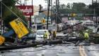Un tornado causa cuantiosos daños en ciudad de Maryland