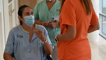 Médicos toman decisión con paciente embarazada y con covid