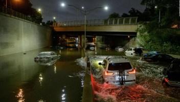 Nueva Jersey bajo el agua tras el paso de Ida